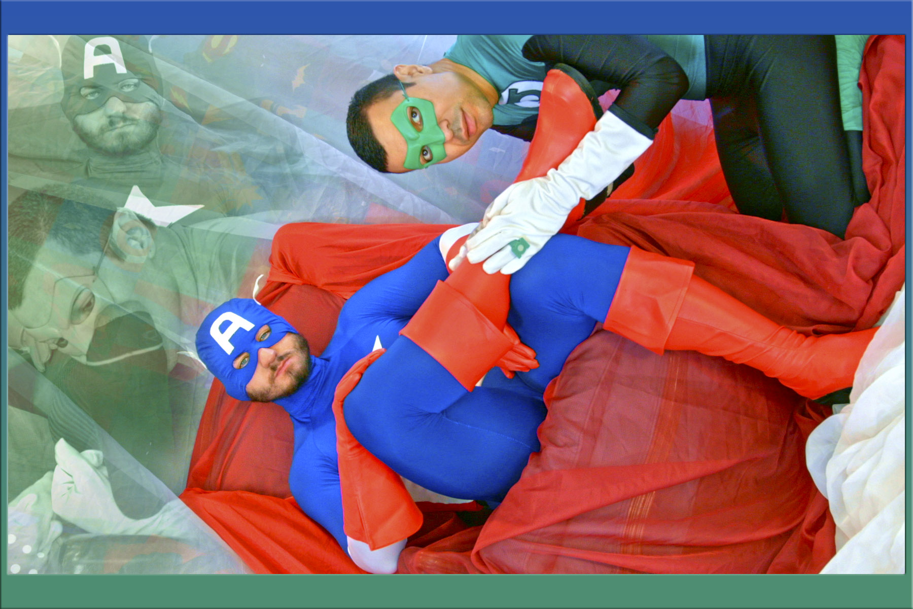 MF - EP NO.32 - CAPTAIN AMERICA & GREEN LANTERN PARODY